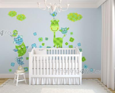 Wall stickers jungle zoo collection   wall stickers for kids ...
