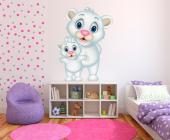 Beren - Muurstickers Jungle Babykamer