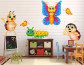 Insekter (Kit) - Wallstickers Barn