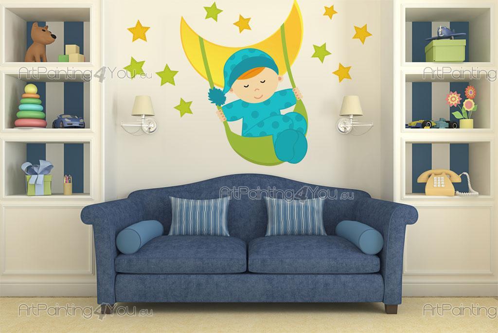 Luna stelle kit adesivi murali bambini vdi1183it for Adesivi murali x bambini