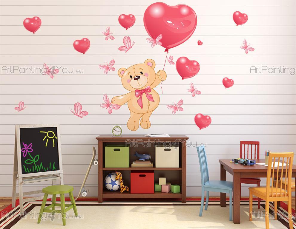 Wandtattoo & wandsticker kinderzimmer bären (2133de)