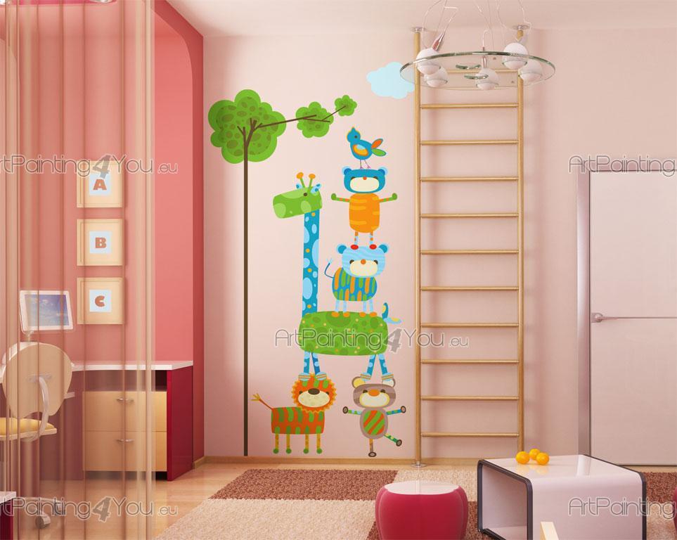 Stickers girafe chambre bebe maison design - Stickers koala chambre bebe ...