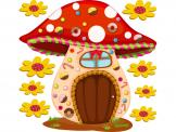 Wall Stickers for Kids - Remember the tale of Hansel and Gretel? This wall decal of a candy house isn't home to a wicked witch nor is it made of cake, but it will look wonderf...