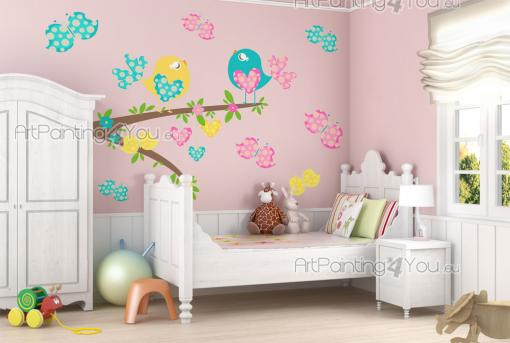 Wall Stickers for Kids - What a nice day to take a stroll in the garden! Let your baby or kid have their own little garden in the nursery or bedroom. Apply next to a piece of ...