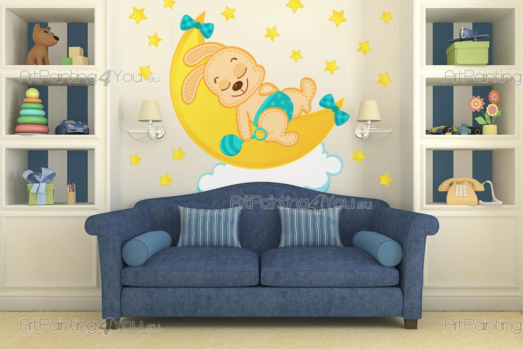 stickers chambre bebe etoile solutions pour la. Black Bedroom Furniture Sets. Home Design Ideas