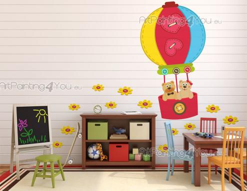 Jungle Wall Stickers for Kids - Kids love toys and bright colours! Take a look at this kit of wall decals inspired on felt dolls. Apply on a wall of the baby or kid room, amongst the...