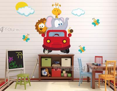 Wallstickers barn   veggdekor barnerom og veggklistremerker