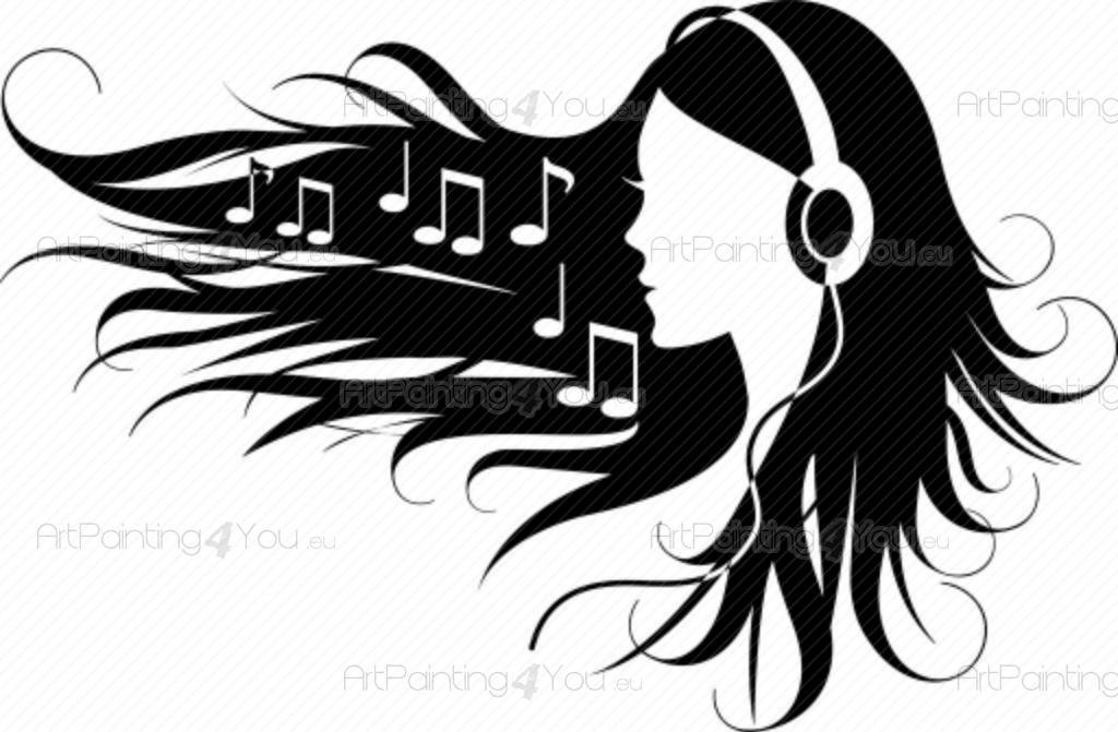 Silhouette, Music and Search on Pinterest