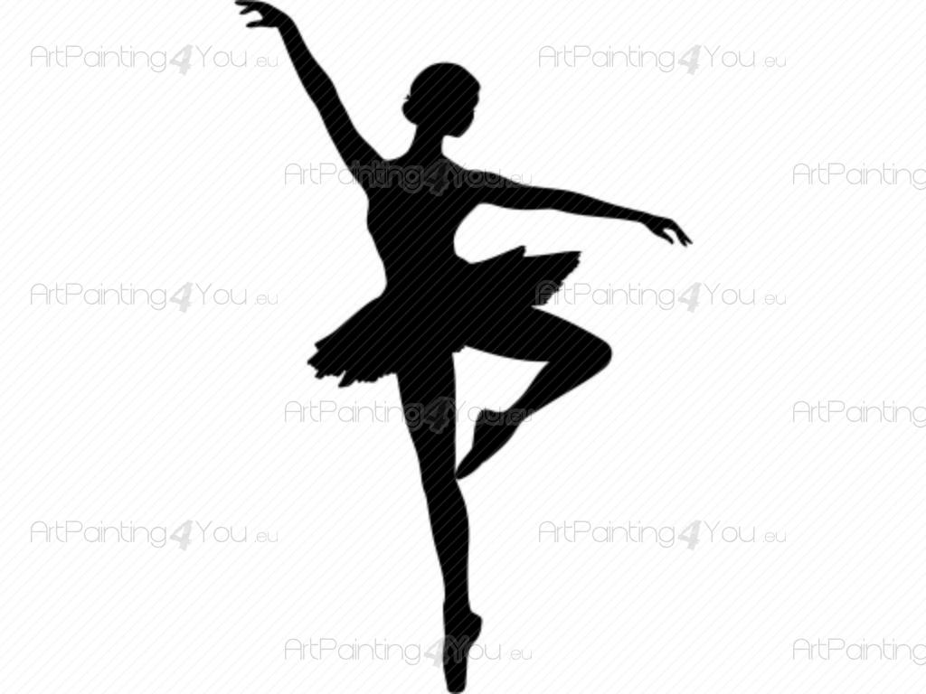 Interieurstickers ballet dans for Dans html
