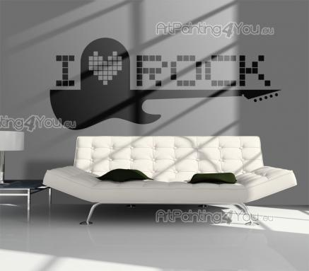 Rock and Roll - Wallstickers Musikk & Dans