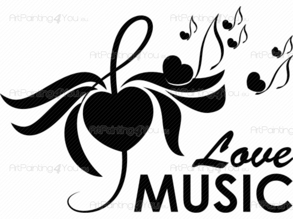 Vinilos Frases Notas Musicales