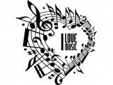 Musical Notes - Music & Dance Wall Stickers
