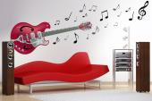 Electric Guitar - Music & Dance Wall Stickers