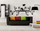 Lovebirds - Romantic Wall Stickers