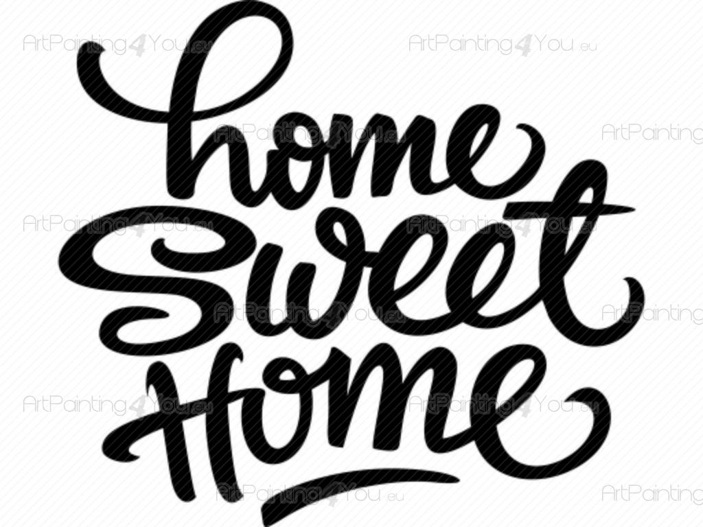 Home Sweet Home Wall stickers quotes VDTE1013en