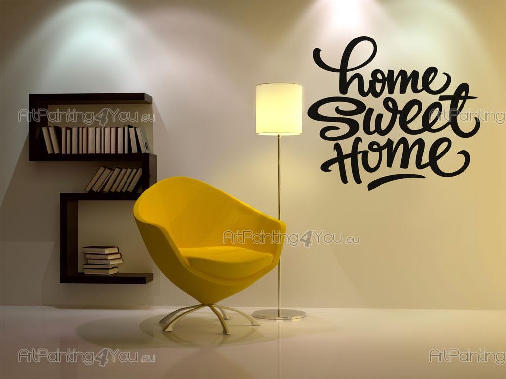 Adhesivos decorativos frases hogar dulce hogar - Sweet home decora ...