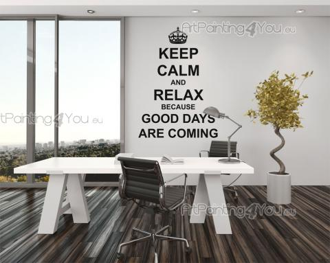 Wall Stickers Quotes - Wall decals with decorative words and quotes. Have on a wall of your office, bedroom or kitchen a sticker that motivates you to never give up. Keep ca...
