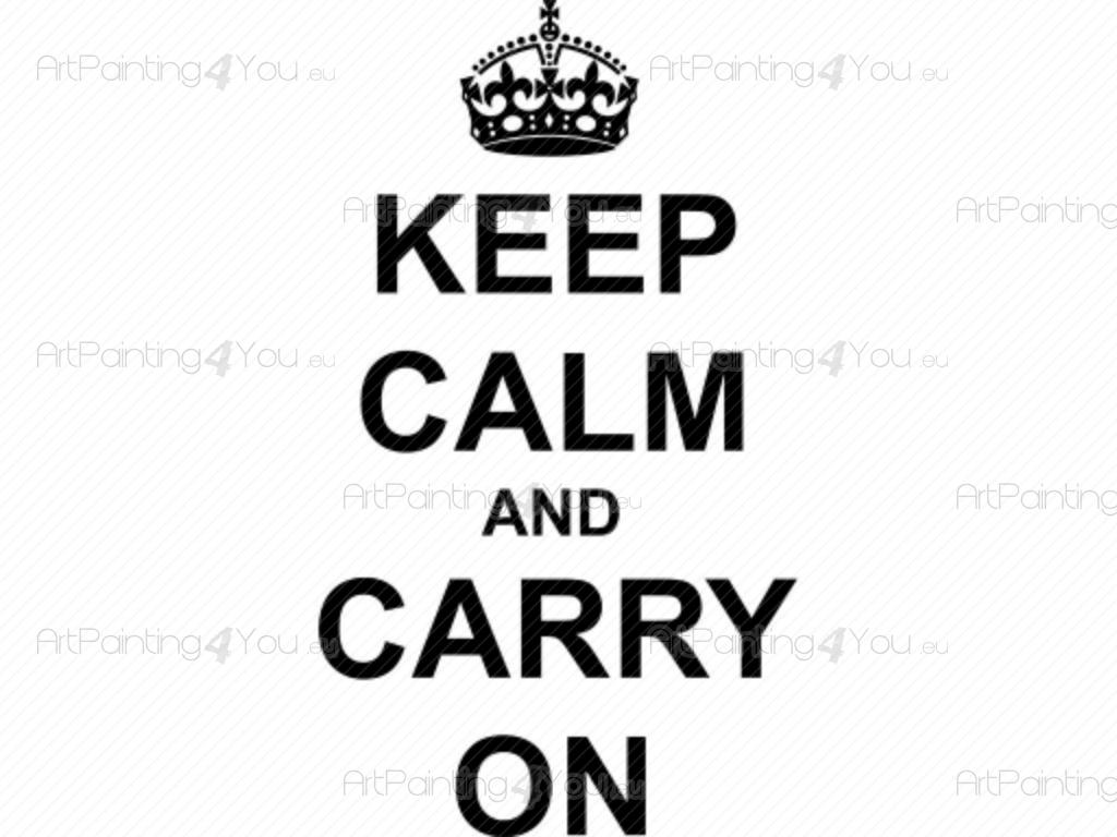 O Que Significa Em Ingles Keep Calm And Carry On Stunning Places