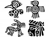 Aztekiske (Kit) - Wallstickers Tribal