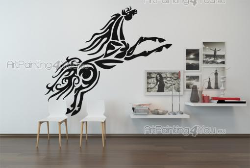 Tribal Horse - Tribal Wall Stickers
