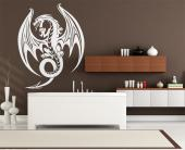 Drage - Wallstickers Tribal