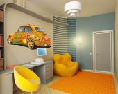 Orange Beetle - Cities & Travels Wall Stickers