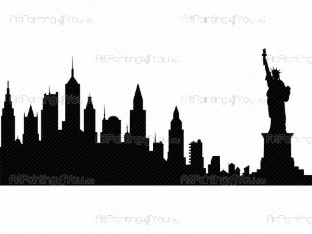Schön New York Wandtattoo Das Beste Von - Städte & Reisen