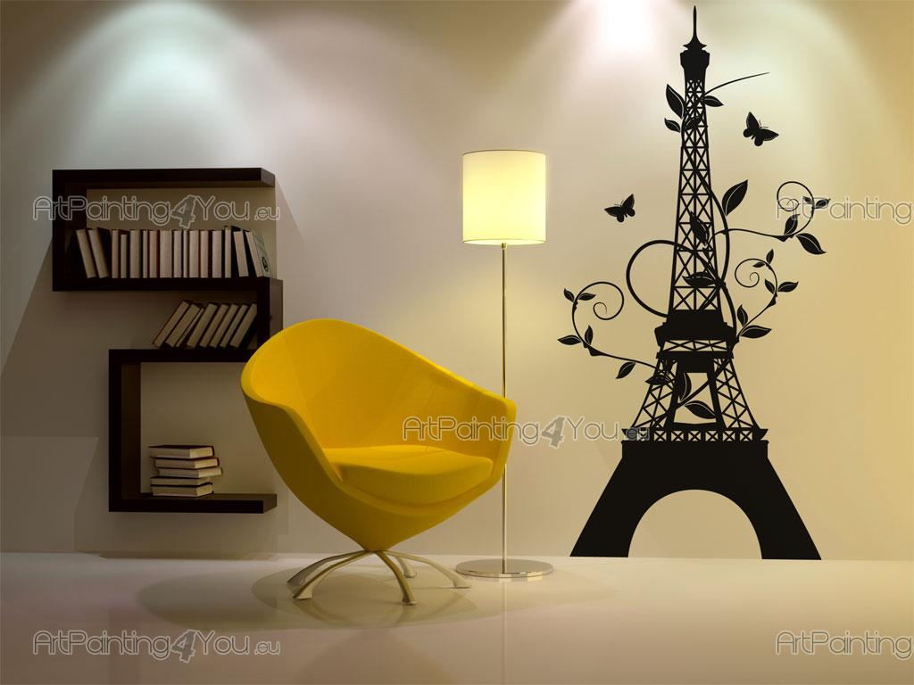 Wall Decals Eiffel Tower | ArtPainting4You.eu® | (VDV1018en)