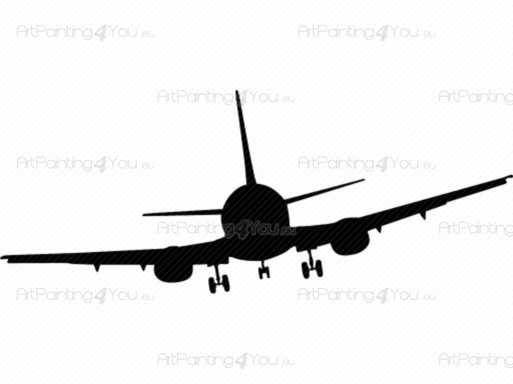 Wall Decals Airplane Silhouette Artpainting4you Eu