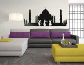 Taj Mahal India Skyline - Cities & Travels Wall Stickers
