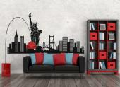 New York Skyline - Cities & Travels Wall Decals