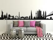 Skyline cities of the world - Cities & Travels Wall Decals